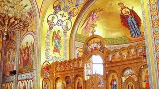 ✥ Musique chrétienne de Byzance - Chant à la gloire du Christ Rédempteur : SIMERON KREMATE