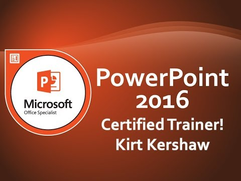 Microsoft PowerPoint 2016 Tutorial for Beginners – How To Use PowerPoint Part 1