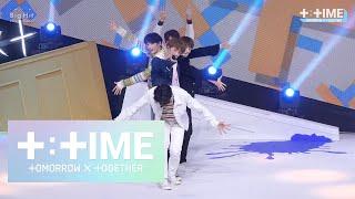 [T:TIME] '어느날 머리에서 뿔이 자랐다 (CROWN)' stage @Debut Show - TXT (투모로우바이투게더)