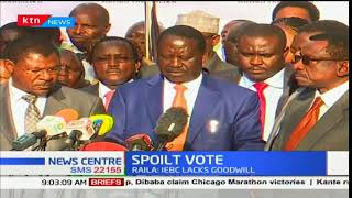IEBC expected to make its decision after Raila's withdrawal from presidential race