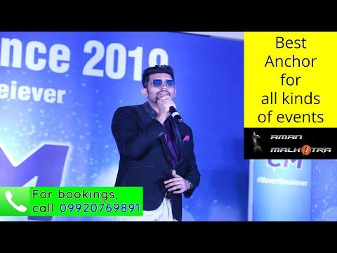A Glimpse of the Journey so far | Aman Malhotra | Showreel | Emcees in Mumbai