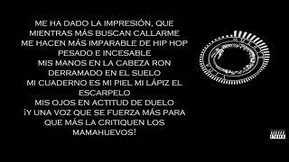 Canserbero - Advertencia - Letra (Street Lyrics)
