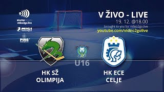 U-16 DP 19.12.2017 HK Olimpija – HK ECE Celje 11:2