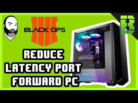 Black Ops 4 Port Forwarding PS4 | Tutorial To Help Reduce
