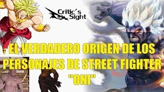 El Verdadero Origen de los Personajes de Street Fighter