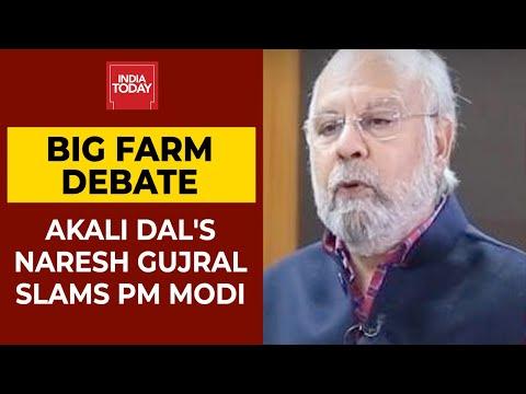 खेत बिल विवाद: अकाली दल के सांसद नरेश गुजराल स्लैम PM मोदी कहते हैं कि राजग केवल मौजूद है कागज पर