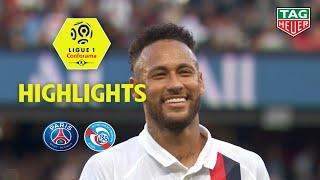 Paris Saint Germain   RC Strasbourg Alsace ( 1 0 )   Highlights   (PARIS   RCSA)  2019 20