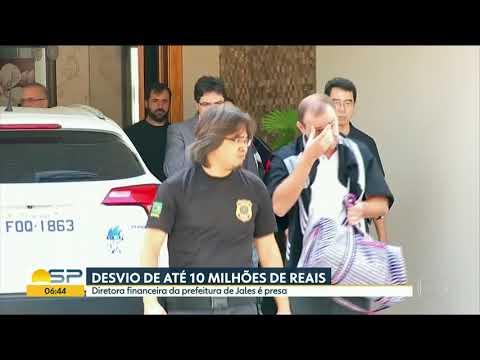 Diretora financeira de Prefeitura de Jales é presa acusada de desviar R$ 10 milhões