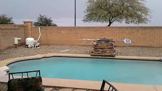 Sleet in Phoenix