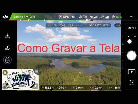 DJI GO 4 Mod Português - Teste (Minha Opinião) Drone Spark