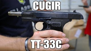 Romanian TTC Tokarev Pistol - 7.62x25 - Manufactured in the famous Cugir factory in Romania. Very Good to Excellent Surplus Condition - C & R Eligible