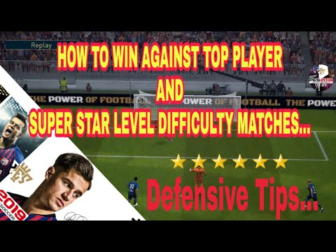 HOW TO WIN LEGEND DIFFICULTY IN PES 2019 MOBILE