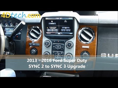 sync 3 upgrade for sync 2 myford touch mft w android auto apple carplay ebay. Black Bedroom Furniture Sets. Home Design Ideas