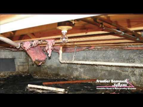 Both Layne and Judy Gebers, owners of Frontier Basement Systems, are back with another episode of the HomePro video series, this time to talk about crawl spaces. In this episode, the Gebers discuss a very common problem among homeowners with houses that sit on top of dirt-floored and vented crawl spaces: foul odors.