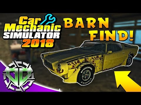 Car Mechanic Simulator 2018 :  Barn Find, Test Track, & Dodge Challenger! (PC)