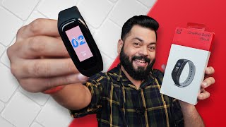 OnePlus Band Unboxing And First Impressions ⚡ Best Smart Band Under 2500?