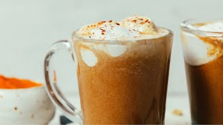 DIY Vegan Pumpkin Spice Latte | Minimalist Baker Recipes