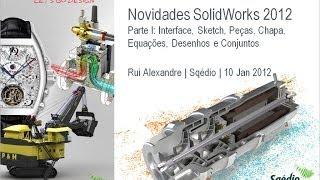 Novidades SolidWorks 2012: Parte I