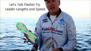 Lets Talk Flasher Fly Leader Lengths and Speed