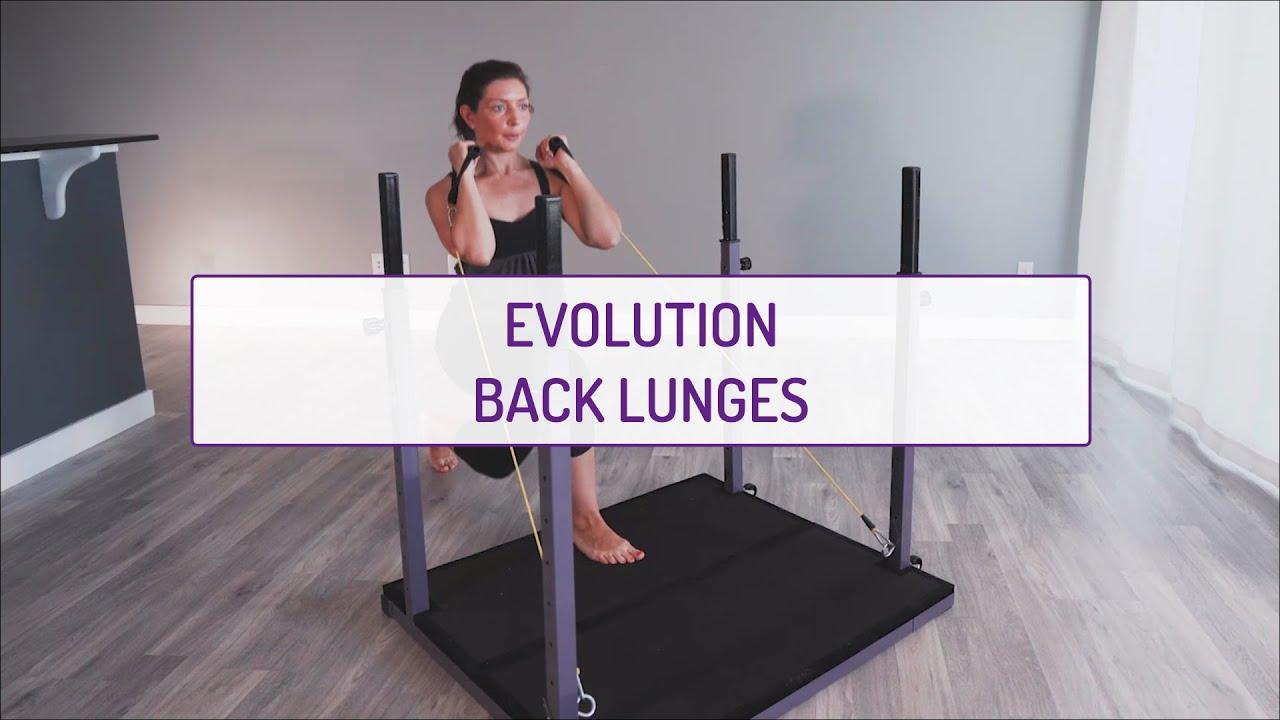Evolution Back Lunges