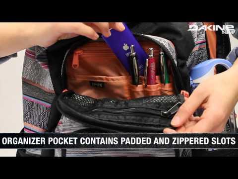 Der Dakine Jewel Rucksack für Mädchen - perfekt für Schule & Freizeit mit einem Laptopfach