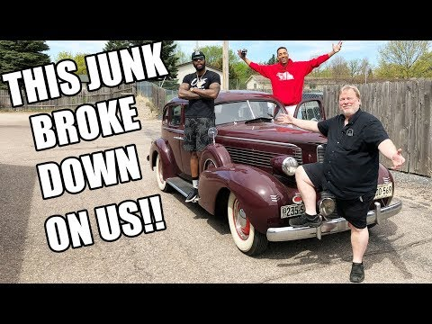 1937 Cadillac Lasalle Review!! ULTRA HILARIOUS