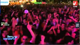 Ferry Corsten - Live @ Ultra Buenos Aires Argentina 2014