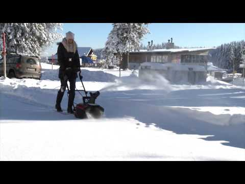 PEARL 3-teilig zerlegbare Schneeschaufel mit Alu-Stiel /& horizontalem Griff