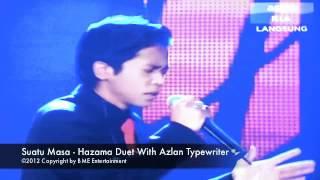 Hazama & Azlan Typewriter Duet Suatu Masa At Astro Mania Minggu 7