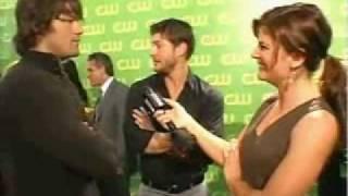 Jensen&Jared CW upfront 2006 pour E! (VO)