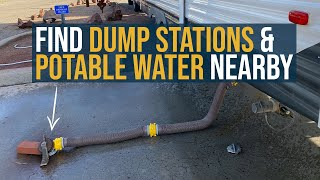 How To Find Nearby RV Dump Stations & Potable/Fresh Drinking Water (Free Websites, Apps & More)