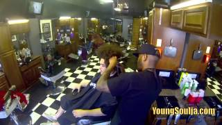 """U Decide My Hairstyle""  Contest - Young Soulja The Realest"