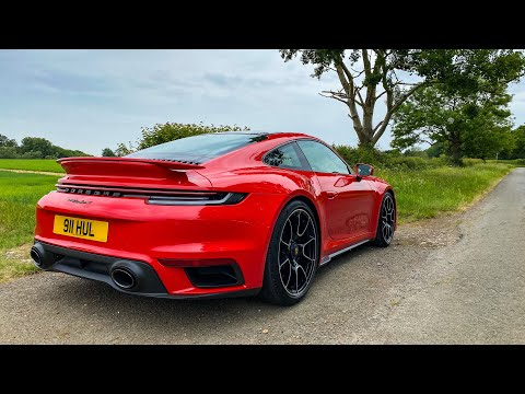 NEW Porsche 911 Turbo S (992) - FIRST DRIVE REVIEW!