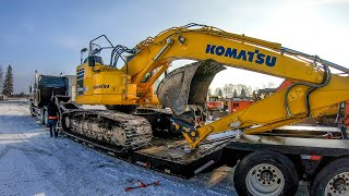 Buying a 30 ton excavator and going broke