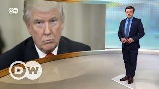 """""""Американские горки"""" Дональда Трампа: 100 дней у власти - DW Новости (28.04.2017)"""
