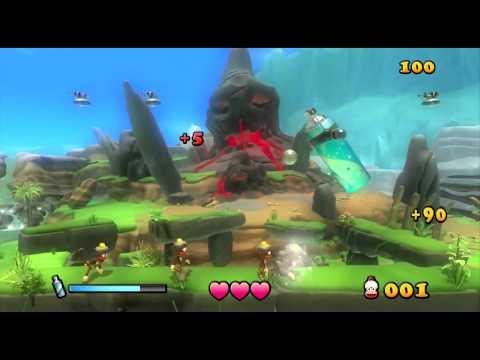 Видео № 0 из игры Ape Escape [PS3, PS Move]