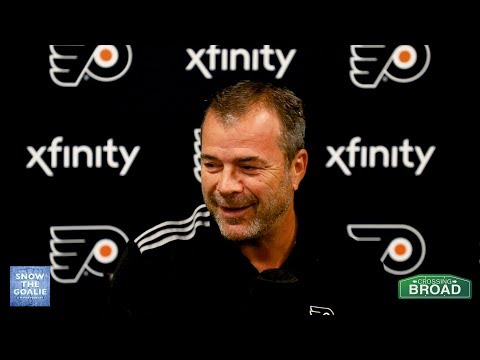 Snow The Goalie Interview with Alain Vigneault
