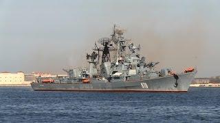 Поющий фрегат России Сметливый вернулся в Севастополь