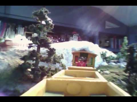 Take A Ride On This Model Railroad Version Of An Old Disneyland Attraction