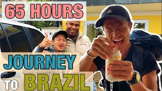 THE MOST DANGEROUS 65 hours ROAD TRIP TO BRAZIL [DOCUMENTARY]