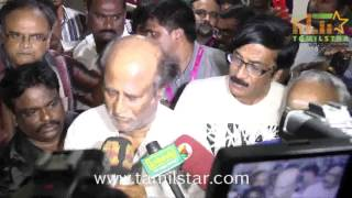 Super Star Rajinikanth Visits hospital to Meet K Balachander