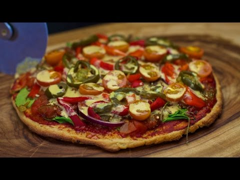 Gluten Free Vegan Quinoa Potato Pizza Crust