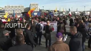 LIVE: Anti-Merkel protest takes place in central Berlin