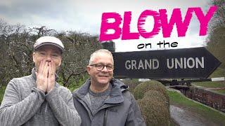 Blowy on the Grand Union Canal. Our Winter Narrowboat Adventure!