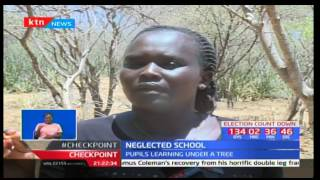 Primary school students in West Pokot County forced to learn under trees