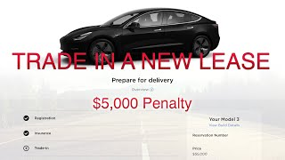 Buying a Tesla Model 3 Standard Range + Online with Lease Trade in Process