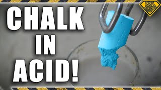 Bleaching the Color Out of Sidewalk Chalk