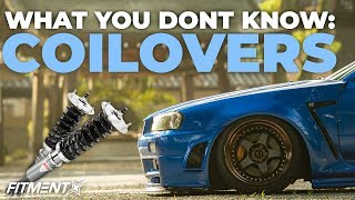 3 Different Types of Coilovers - What's the difference?