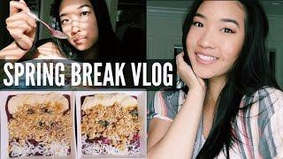 SPRING BREAK 2017 | Follow Me Around Vlog