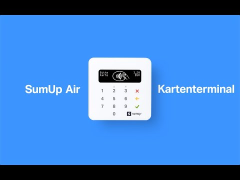SumUp Air card terminal